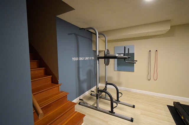 Home Gym Make Over The Grand Reveal